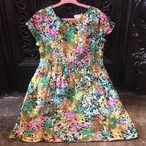 J.Crew size 6 NWT cotton print dress